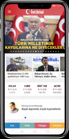 İstiklal Gazetesi Uygulaması
