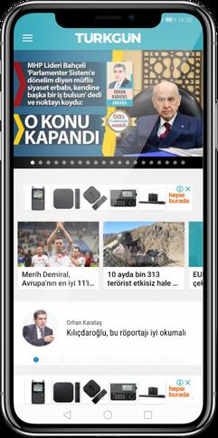 Türkgün Gazetesi Uygulaması
